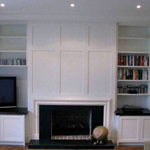 bookshelf entertainment unit