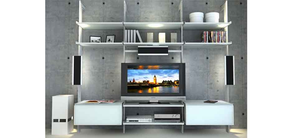 Customised Modular Media Unit