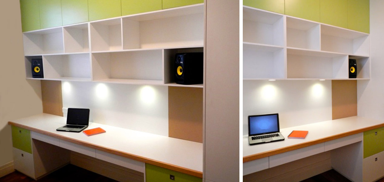 home office fitout design sydney australia spaceworks