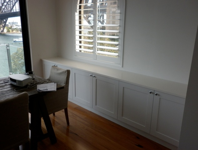 Hampton Style Cabinetry in Kirribilli