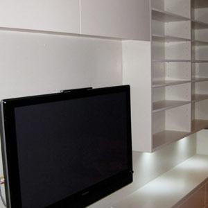 ceiling entertainment unit