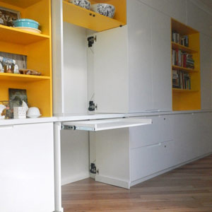 multi functional wall unit
