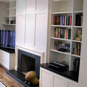 bookshelf cabinet design