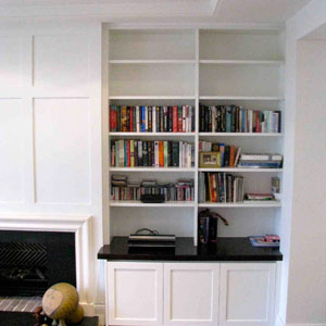 interior design bookshelves