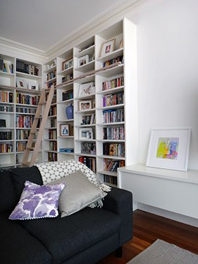 modern bookshelves design