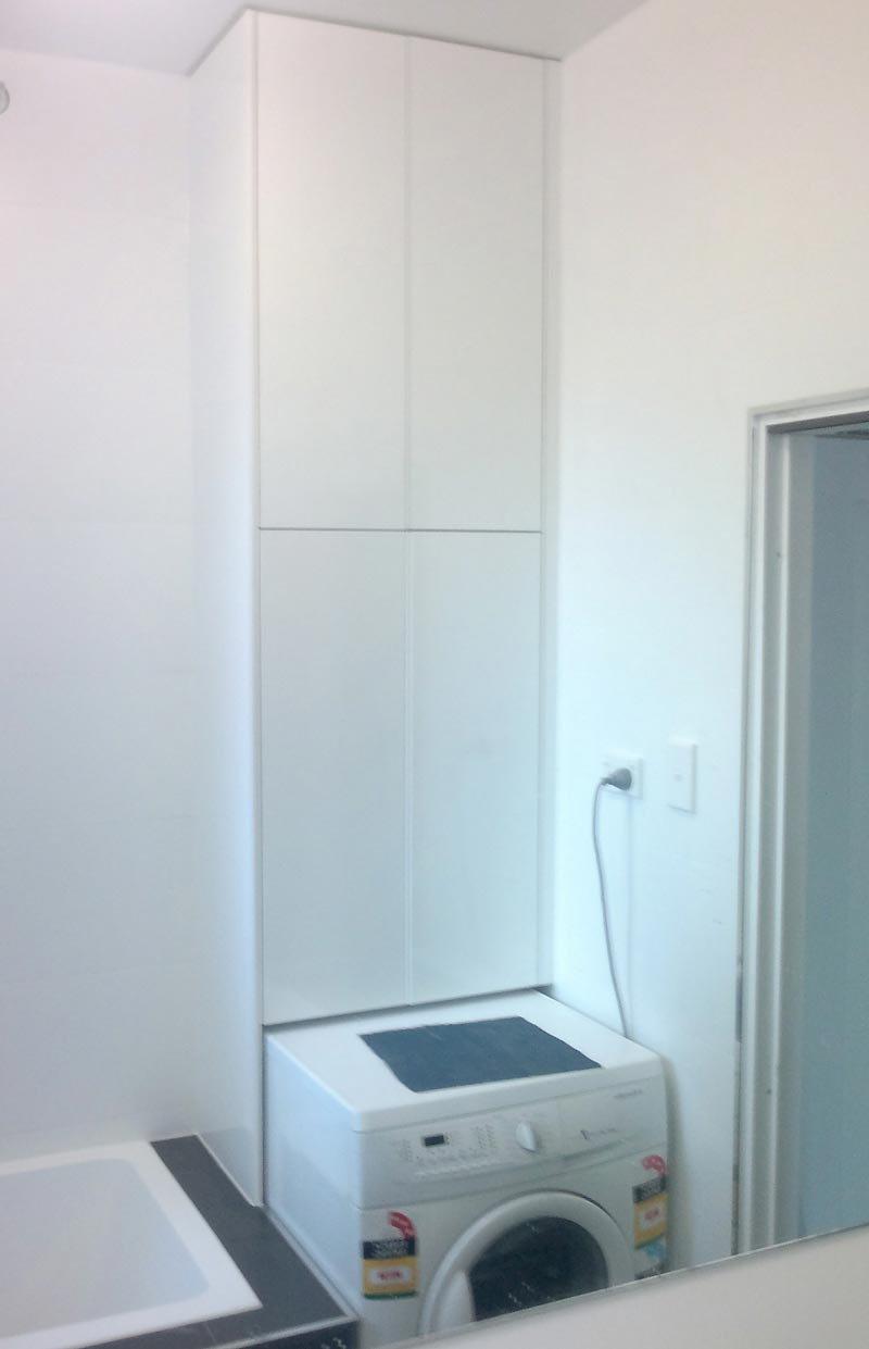 Bathroom Laundry Machine Design