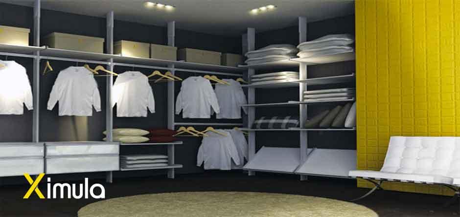 Fully Customised Modular Walk in Wardrobe