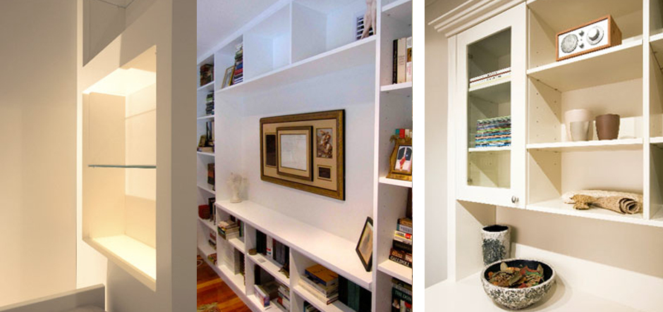 Luxury Shelves and Cabinets