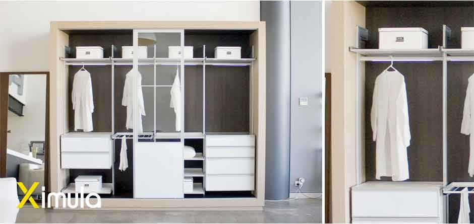Modular Free-standing Wardrobe - customisable