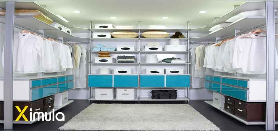 Modular Walk-in Wardrobe - fully customised