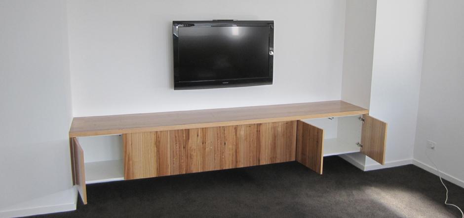 Wooden Media Storage Unit