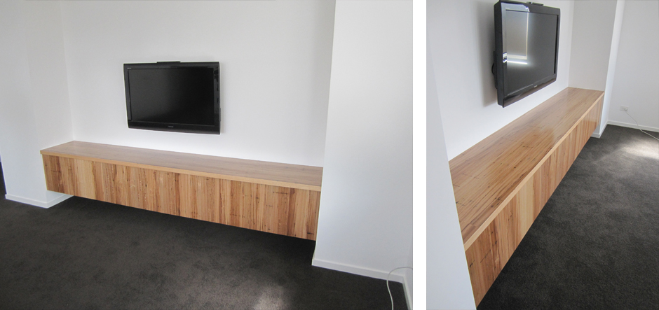Wooden Tv Wall Units