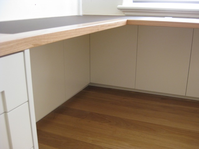 Cable cupboards under desks
