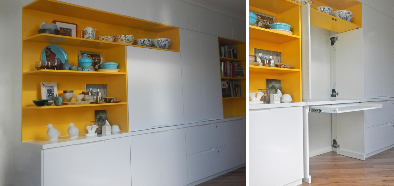 Modular Shelves and Cabinets