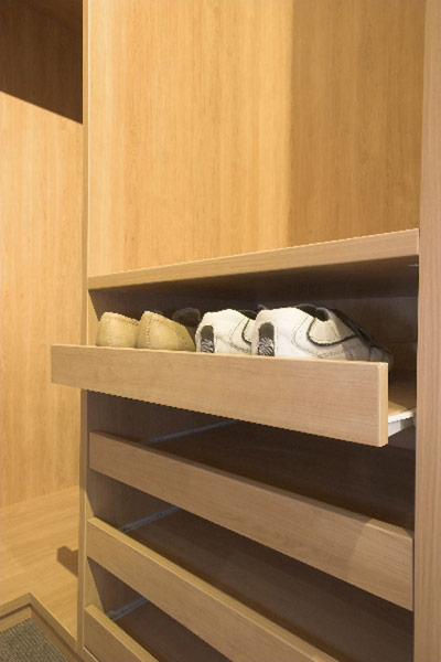 Sliding Shoe Drawers