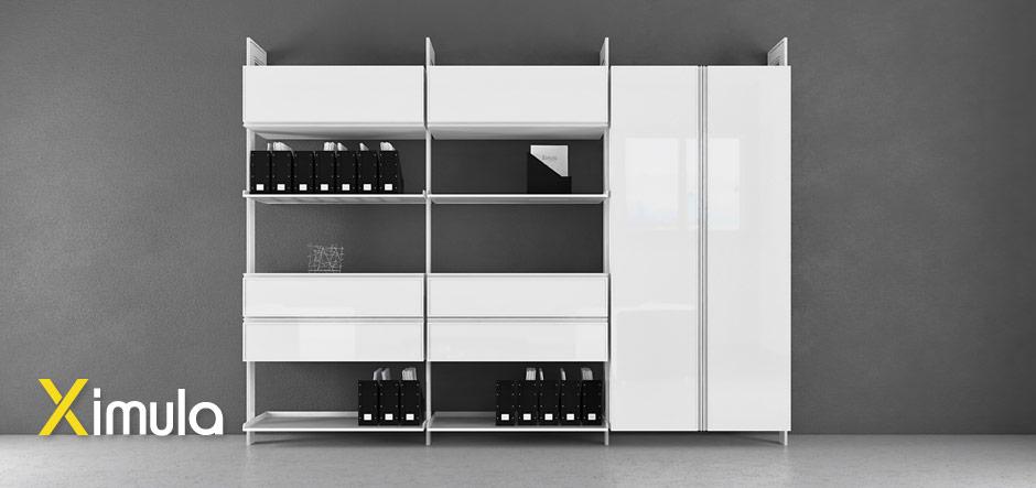 portable modular storage system fully customised
